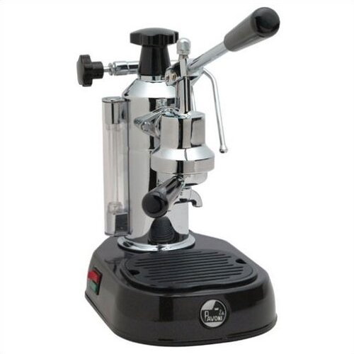 La Pavoni Europiccola 8 Cup Espresso Machine with Base