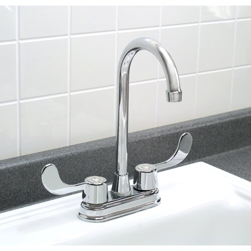 Premier Faucet Bayview Two Handle Centerset Bar Faucet with Blade Handles