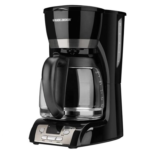 Black & Decker 12 Cup Coffee Maker with Programmable Clock
