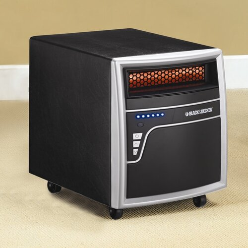 1,000 Watt Infrared Cabinet Power Space Heater