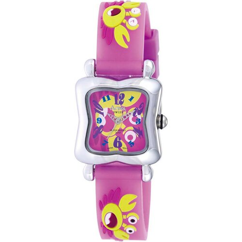 Activa Watches Juniors Crab Design Watch in Pink