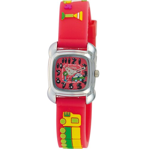 Juniors Car Design Watch in Watermelon
