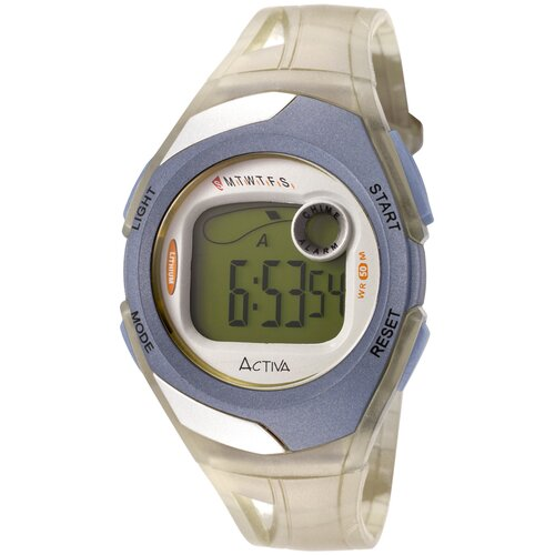 """Activa Watches Women""""s Digital Multi-Function Watch in Light Yellow Transparent"""