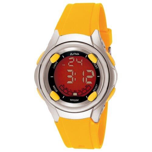 Midsize Digital Multi-Function Watch in Yellow