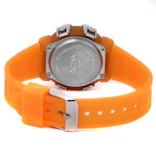 Midsize Digital Watch in Orange
