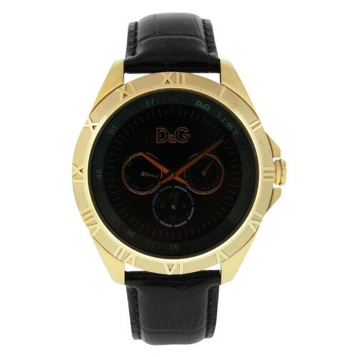 Dolce & Gabbana Chamonix D&G Men's Watch with Black Dial