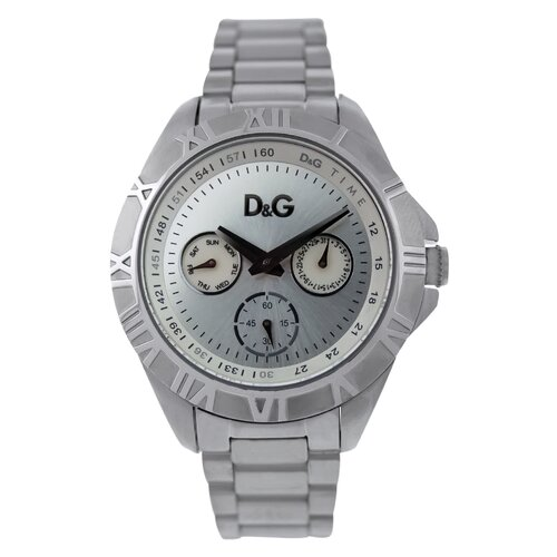 Dolce & Gabbana Women's Chamonix Watch with Silver Dial