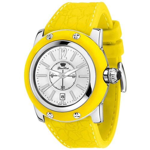 Women's Miami Silicon Watch with Silver Dial