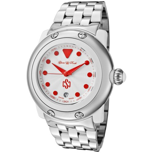 Women's Miami Beach Guilloche Round Watch