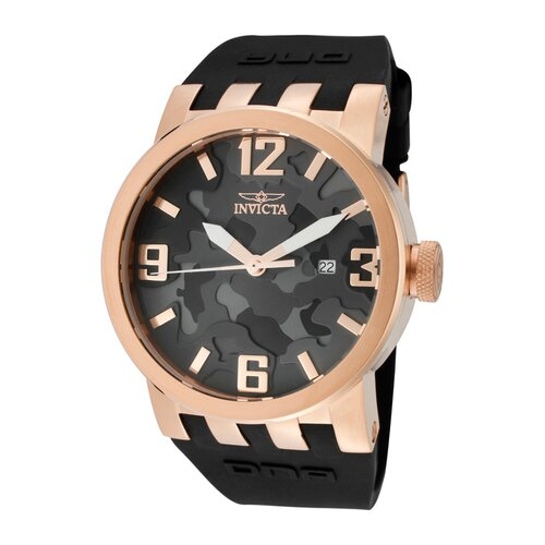 Men's DNA/Camouflage Round Watch