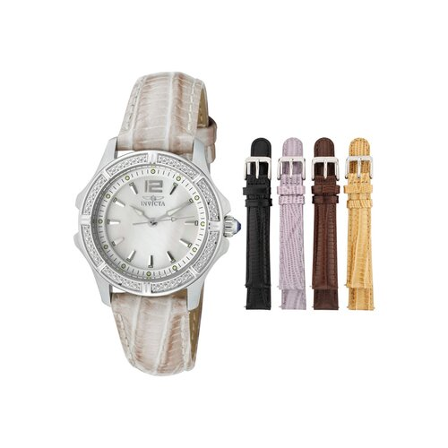 Women's Wildflower Round Watch