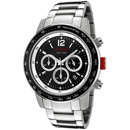Red Line Men's Meter Chronograph Round Watch