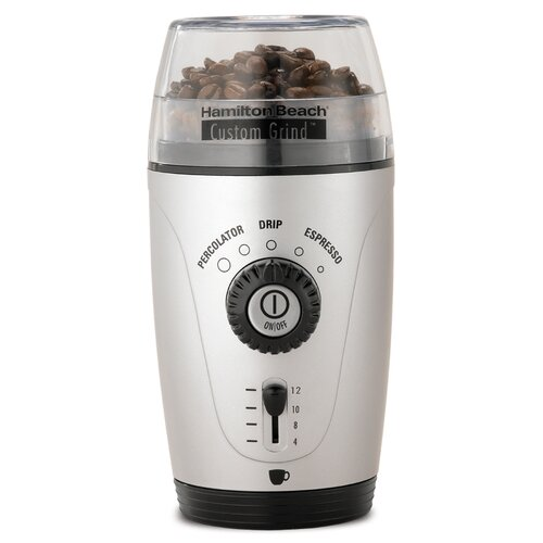 Platinum Custom Grid Hands Free Electric Blade Coffee Grinder