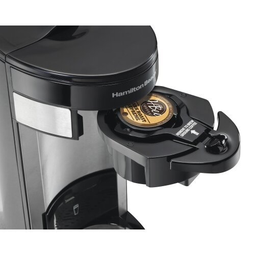 One Cup Coffee Maker K Cup : Hamilton Beach Flex Brew Single Serve K-Cup Coffee Maker & Reviews Wayfair