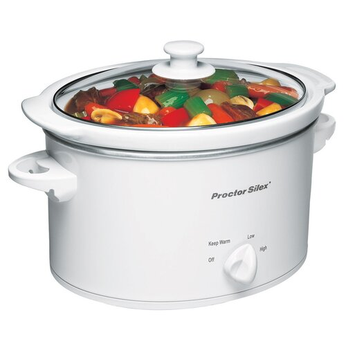 Proctor-Silex 3-Quart Slow Cooker
