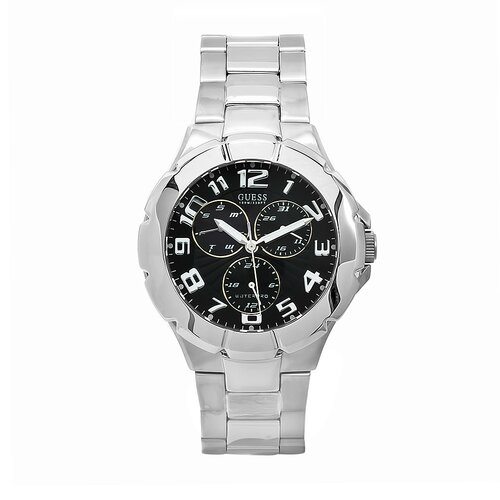 Guess Men's Rush Watch in Black Dial