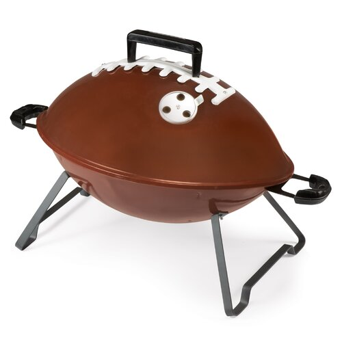 Picnic Time Football Portable Charcoal Grill