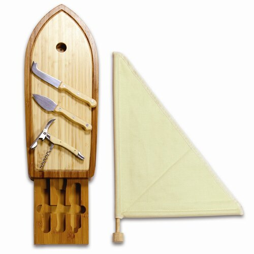 Picnic Time Sailboat Cutting Board