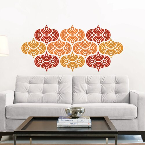 WallPops! Jonathan Adler Geo Scales Wall Decal Kit