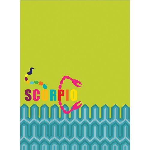 WallPops! Jonathan Adler Dry Erase Scorpio Board Wall Decal