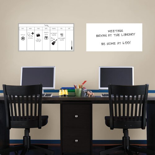 Brewster Home Fashions WallPops Whiteboard Wall Decal