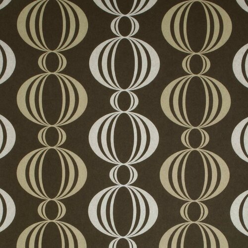Brewster Home Fashions Verve Retro Orb Wallpaper
