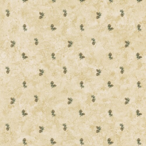 Brewster Home Fashions Northwoods Small-Scale Pinecone Print Wallpaper