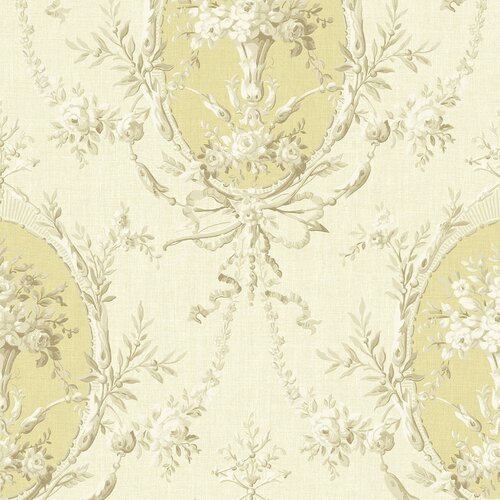 Brewster Home Fashions Willow Cottage Cameo Floral Wallpaper