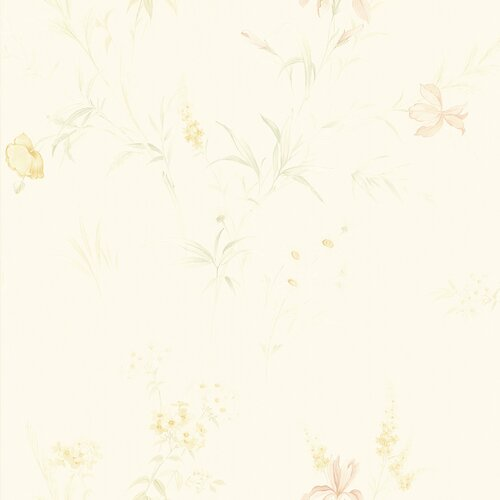 Brewster Home Fashions Kitchen and Bath Resource II Floral Embossed Wallpaper