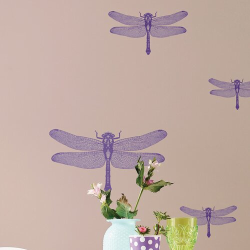 Komar Freestyle Libelle Wall Decal