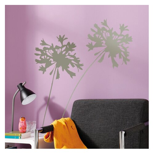 Komar Living Silhouette Wall Decal