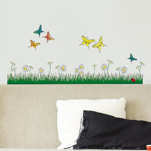 Brewster Home Fashions Euro Butterflies Meadow Wall Decal