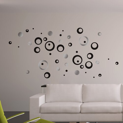 Euro Circles Wall Decal