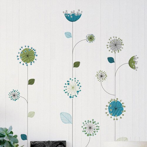 Brewster Home Fashions Euro Sea Panoramic Wall Decal