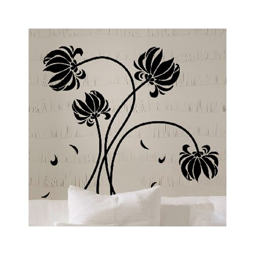 Brewster Home Fashions Euro Flowers Wall Decal & Reviews