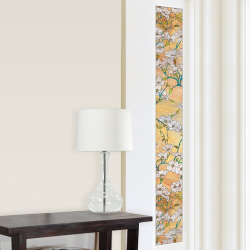 Brewster Home Fashions Premium Dogwood Sidelight Window Film