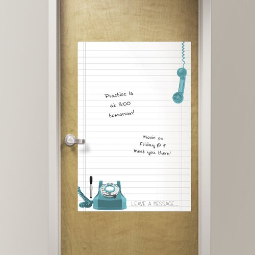 WallPops Giant Novelty Leave A Message Chalkboard Wall Decal