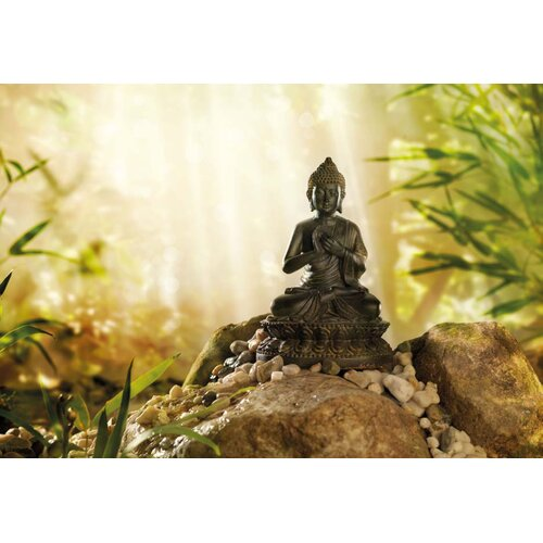 Brewster Home Fashions Komar Buddha 1-Panel Wall Mural