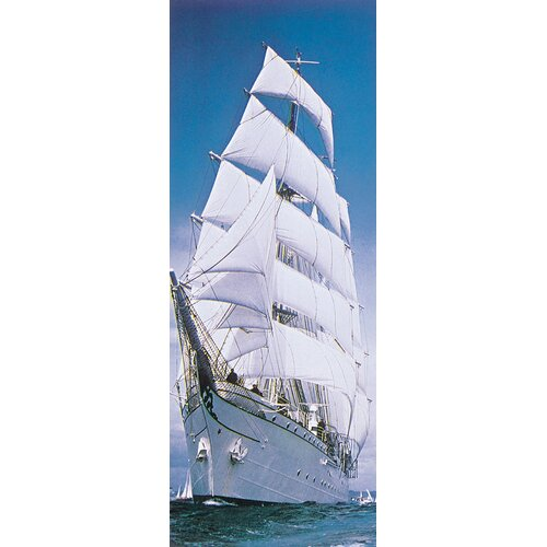 Brewster Home Fashions Komar Sailing Ship 2-Panel Wall Mural