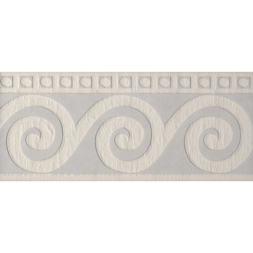 Brewster Home Fashions Paint Plus III Roman Swirl Embossed Border Wallpaper