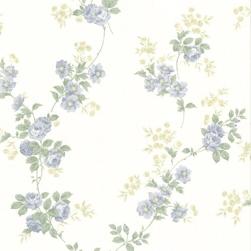 Brewster Home Fashions La Belle Maison Blossom Rose Trail Wallpaper