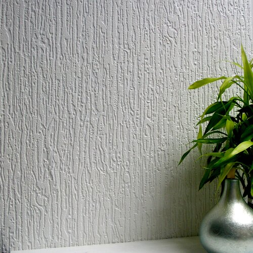 Brewster Home Fashions Anaglypta Paintable Worthing Embossed Wallpaper