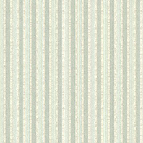 Brewster Home Fashions Springtime Cottage Fabric Ticking Stripe Wallpaper