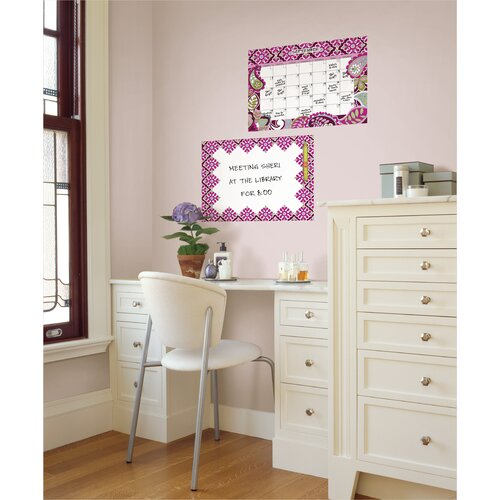 Brewster Home Fashions WallPops Very Berry Whiteboard Wall Decal