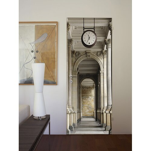 Brewster home fashions ideal decor passageway wall mural for Brewster home fashions wall mural