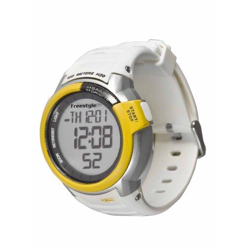 Performance Mariner Watch in White / Yellow