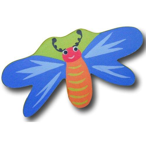 "One World 3"" Dragonfly Knob"