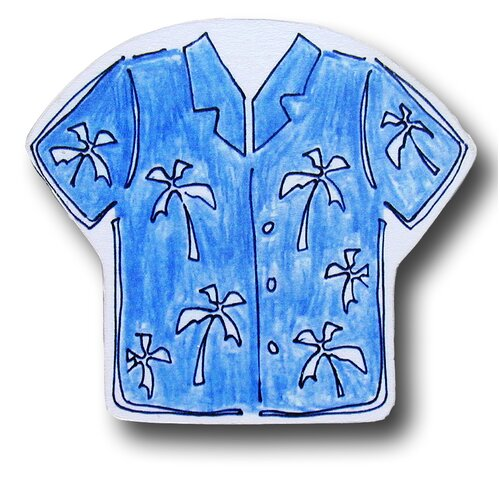 "One World 3"" Maui Wowie Hawaiian Shirt Knob"