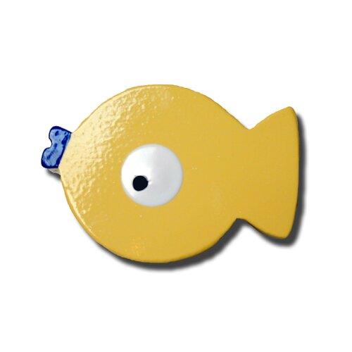 """One World 2.5"""" Puffer Fish Knob"""