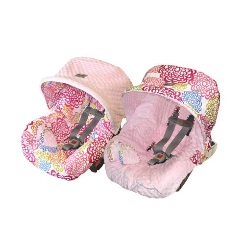 Itzy Ritzy Baby Ritzy Rider Infant Fresh Bloom Car Seat Cover